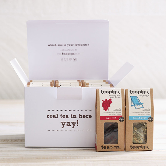 Win a lovely selection of teas from teapigs