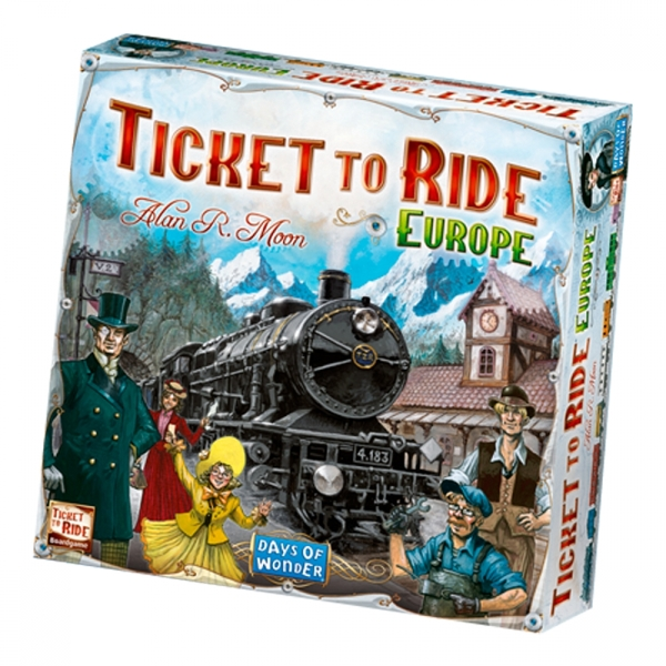 Win a Ticket to Ride Europe board game