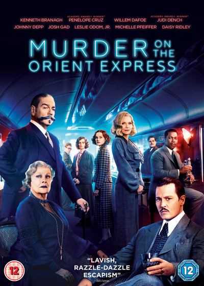 Win a Murder on the Orient Express DVD