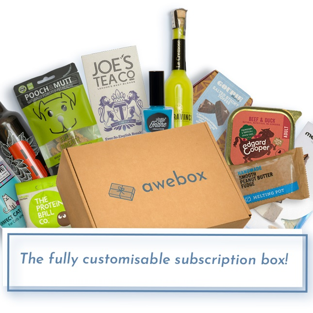 Win a one-off box from Awebox worth £50!