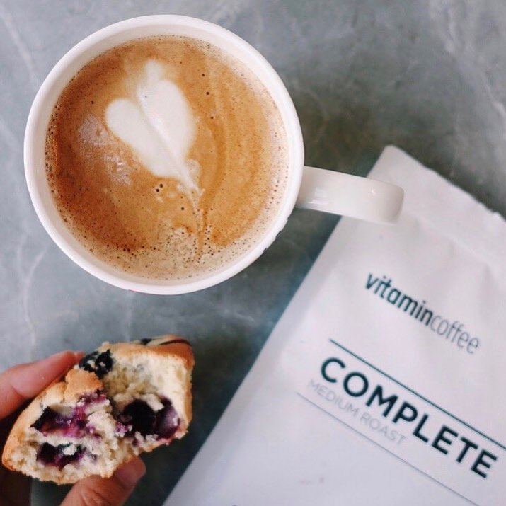 Win a 14 day supply of Vitamin Coffee - winner gets to choose their blend